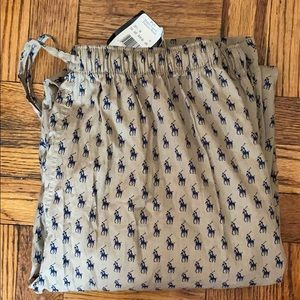 NWT Polo Ralph Lauren sleepwear pants size: L